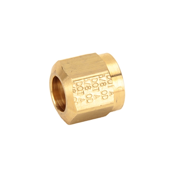Air Suspension Tubing Coupler Nut, 3/8 Inch Compression Fitting