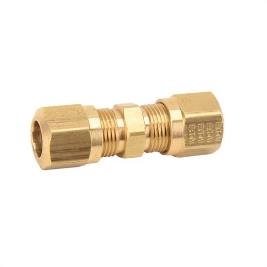 Air suspension tubing compression union inch tube fitting