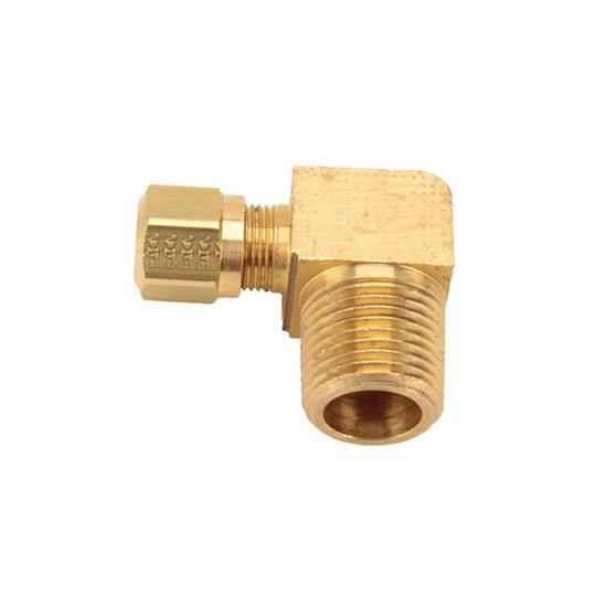 Air suspension tubing male connector elbow fitting degree