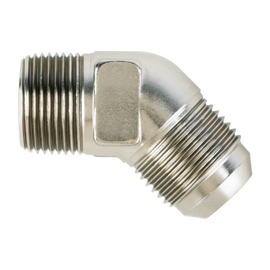 Aeroquip FCE2025 45 -12 AN Flare to 3/4 In NPT Pipe Adapter Fitting