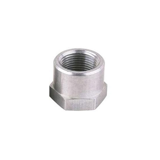 Threaded aluminum weld bung fitting inch npt female