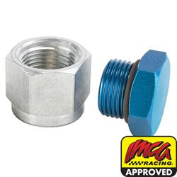 Aluminum Oil Pan Inspection Plug, AN 12