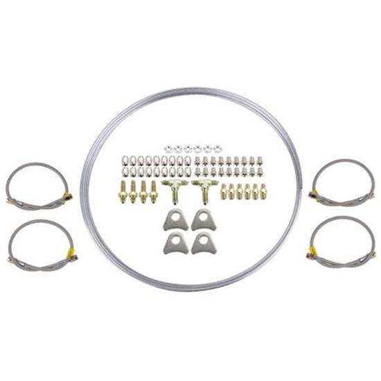 Speedway Universal Mild Steel -3 AN Complete Brake Line Kit