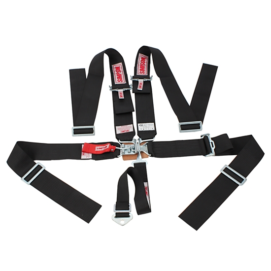 simpson 5 point harness latch link sprint car safety seat belt. Black Bedroom Furniture Sets. Home Design Ideas