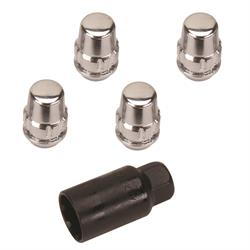 Gorilla Automotive 71481N 1/2-20 Acorn Wheel Locks, 60 Deg. Taper