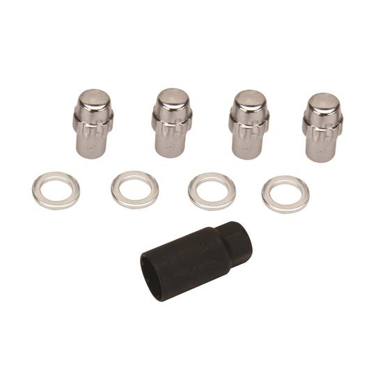 Gorilla Automotive 73681N 1/2-20  Mag Wheel Locks, 3/4 In Shank