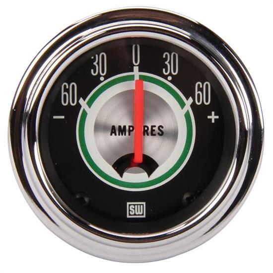 ammeter and voltmeters stewart warner 359ce green line ammeter gauge 2 1 16 inch