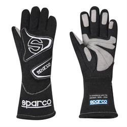 Sparco 00139F312NR Flash 3 Racing Gloves, Black, Size XL