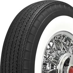 Coker 750R14 American Classic Bias-Look Radial 2.25 In Whitewall Tire