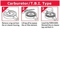 Fuel Saver for Carbureted/TBI Engines, 7-1/4 O.D., 3/4 Inch Tall