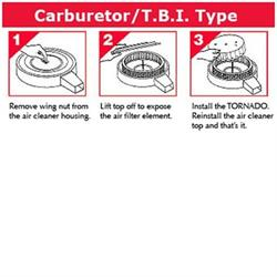 Fuel Saver for Carbureted/TBI Engines, 7-1/4 O.D., 1-5/8 Inch Tall