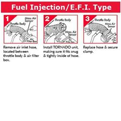 Fuel Saver for Fuel Injected Engines, 3-3/4 O.D., 1-1/2 Tall