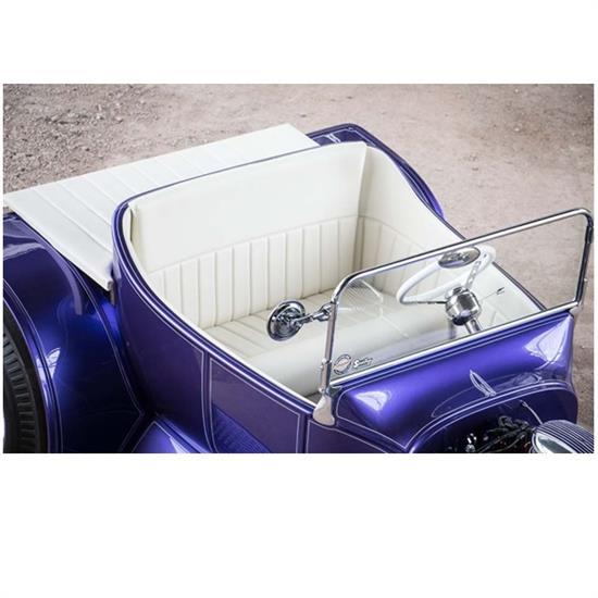 T Bucket Interior Kit For 1923 Deluxe Body W Door Channeled Black Ebay