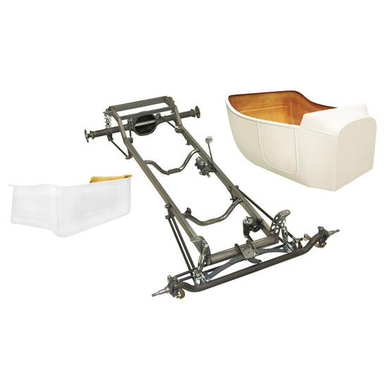 Deluxe 1923 T-Bucket Frame Kit w/ Standard Body and Bed, No Floor
