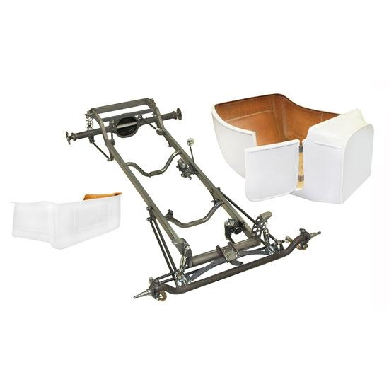 Deluxe 1923 T Frame Kit w/ Deluxe Body and Bed, Channeled Floor