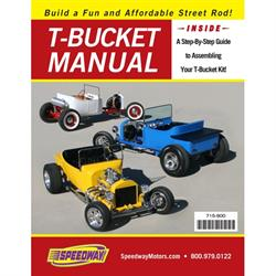 Speedway T-Bucket Build Instruction Assembly Manual