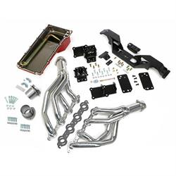 Trans-Dapt 42012 Engine Swap Kit, 1967-74 GM LS, Silver Ceramic