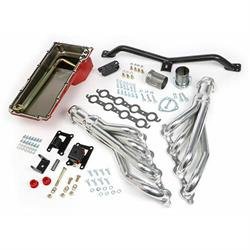 Trans-Dapt 42042 Engine Swap Kit, 1967-72 C10/C15 2WD, Silver Ceramic