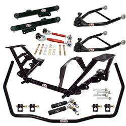 QA1 DK12-FMM1 1979-89 Ford Mustang Drag Racing Suspension Kit, Level 2