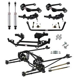 QA1 HK03-CRA1 1967-72 Mopar A-Body Handling Suspension Kit, Level 3
