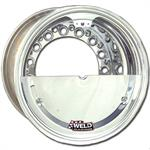 Weld Racing 559-5405-6 Wide 5XL 15 x 14 Inch Wheel, w/Cover