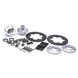 Wilwood Disc Brake Kit 1949-54 Chevy Spindles, 2-Piston, Steel Rotor