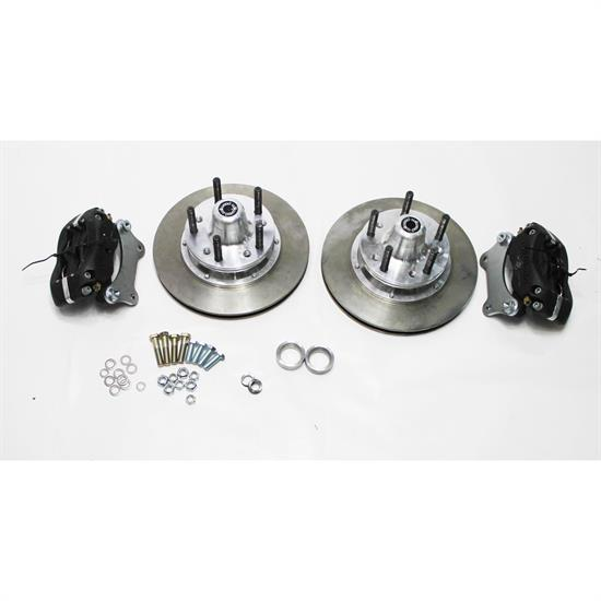 Garage Sale - Wilwood Disc Brake Kit, 49-54 Chevy Spindles, 4-Piston, Vented Rotor
