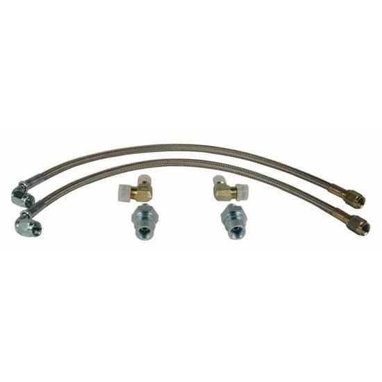 Brake Line Hardware : Wilwood  flexline brake line kit gm