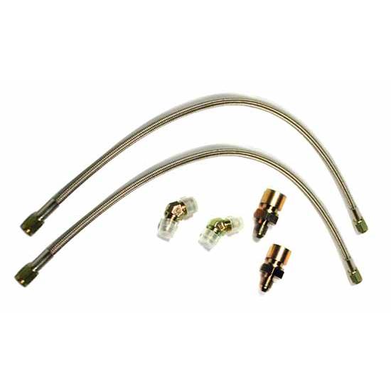Brake Line Hardware : Wilwood flexline front brake line kit