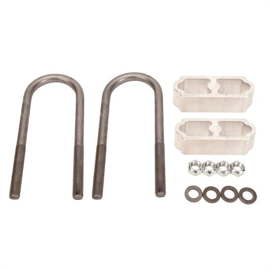 1960-72 Chevy Pickup Rear Lowering Block Kit, 1-1/2 Inch