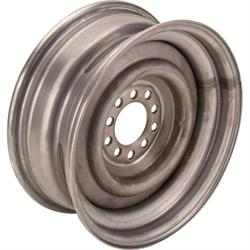 15 x 6 Inch Smoothie Steel Wheel, 3-1/2 Inch Backspace