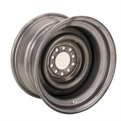 15 x 8 Inch Smoothie Steel Wheel, 4-1/4 Inch Backspace