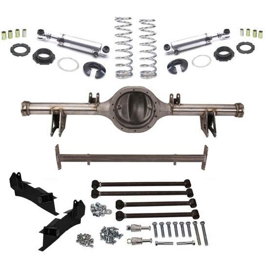 Bolt-In 1935-40 Ford Triangulated Four-Bar Rear Suspension Kit