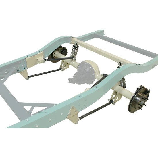 Build Your Own Car Kit >> Bolt-In 1947-54 1/2Ton Chevy Truck Triangulated Four Bar Rear Susp Kit