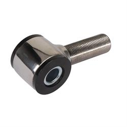 Speedway Stainless Steel 4-Bar Rod End, 11/16-18 RH Thread, Polished