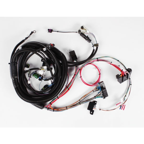 speedway 1985 1992 gm tbi engine efi wiring harness