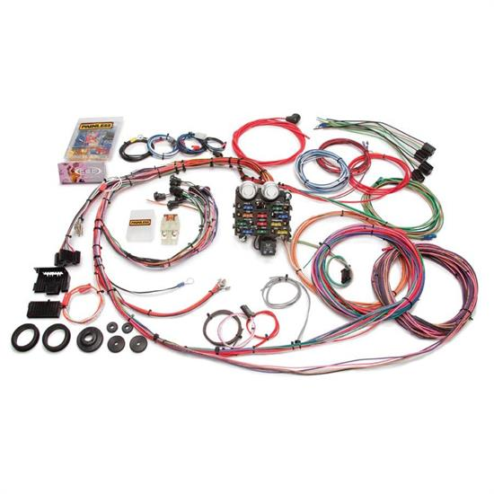 painless wiring 10112 19 circuit wire harness for 1963 66 gm