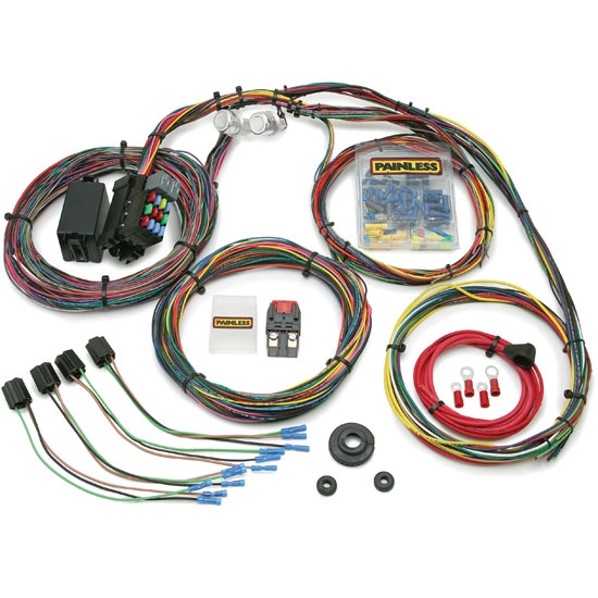 painless 10127 1966 1976 mopar car 21 circuit wiring harness