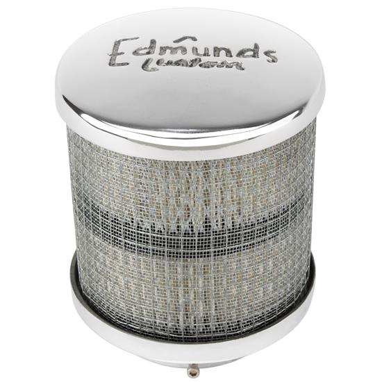 Edmunds Custom Air Cleaner, Tall, 2-5/8 Inch Neck