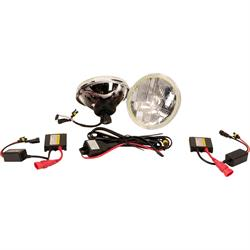 Delta 01-1159-HIDH 7 Inch DOT HID Halo Headlights w/Turn Signals
