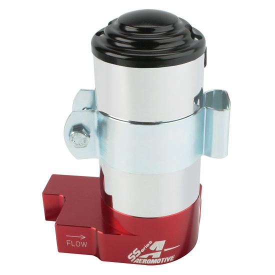 Aeromotive 11203 SS Series Red High Output Billet Fuel Pump