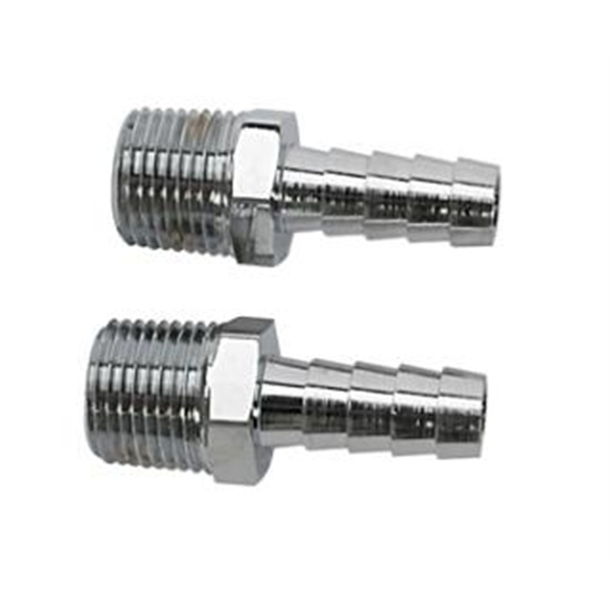 3/8 NPT Male to 5/16 Inch Hose Barb Adapters