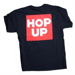 Hop Up Classic Block T-Shirt, Black