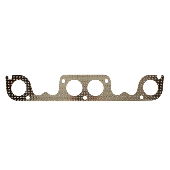 Cometic EX300064AM S/B Chevy Exhaust Gaskets-Brodix Spread Port, Round
