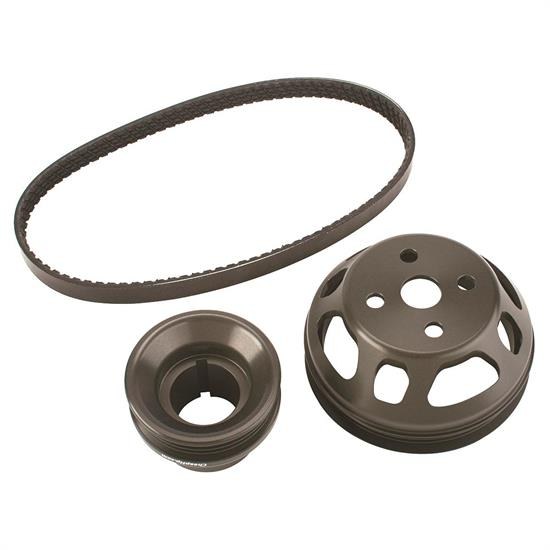Speedway 2.3 Ford Underdrive Water Pump Pulley Set