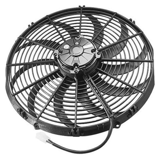 8 In 5 Blade Fan : Spal curved blade fans