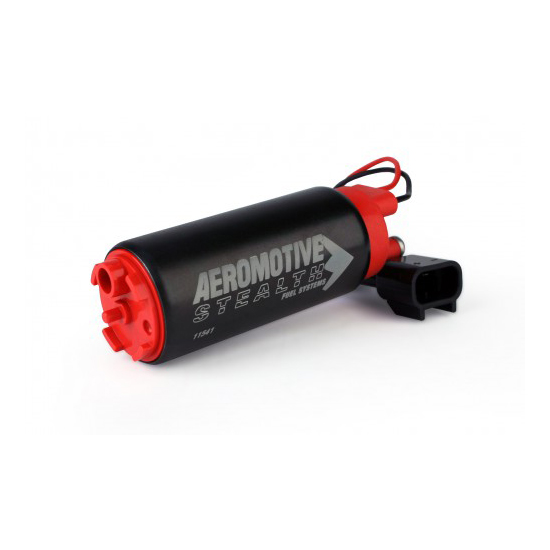 Aeromotive 11541 E85 340 Stealth Electric Fuel Pump, Offset Inlet
