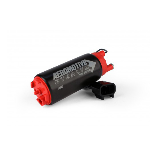 Aeromotive 11542 E85 340 Stealth Electric Fuel Pump, Offset Inlet