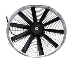 Chrome Straight Blade Electric Fan