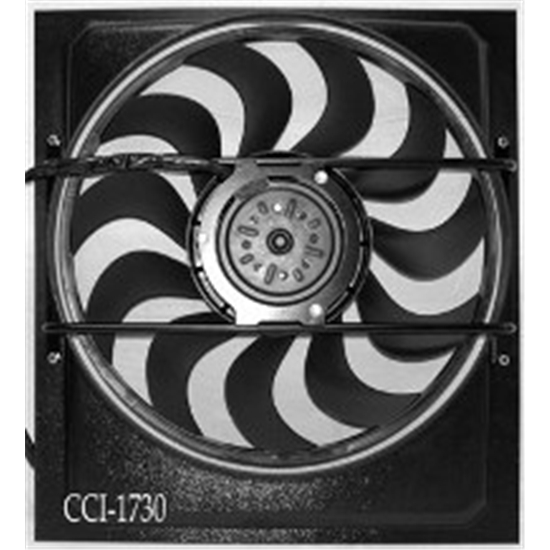 Cooling Components CCI-1730 Cooling Machine Electric Fan, Style 30